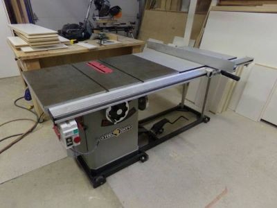 10 Steel City Deluxe Cabinet Saw.