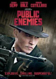 Public Enemies DVD BRAND NEW NEVER OPENED
