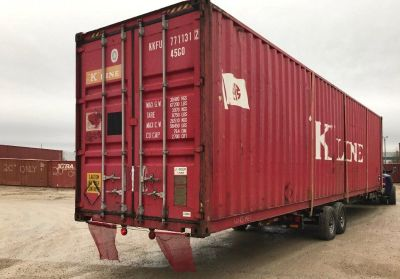 40' Shipping Containers for Storage