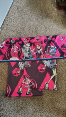 Monster High curtain set