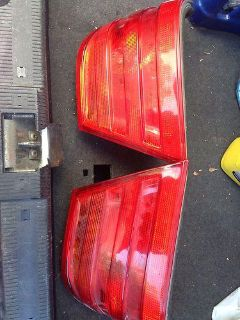 Sell 96-99 Mercedes Benz E Class Factory Rear Brake Light Taillight Lamp Full Set motorcycle in East Hartford, Connecticut, US, for US $0.99