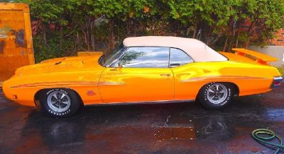 **1970 Pontiac Judge Convertible-All Original Numbers Matching