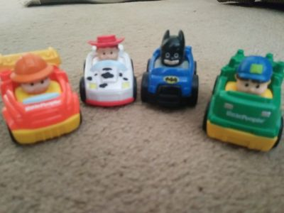 Fisher Price.Little People Vehicles