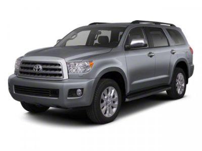 2012 Toyota Sequoia Platinum (BLACK)