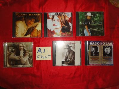 30 country music CD's in excellent condition