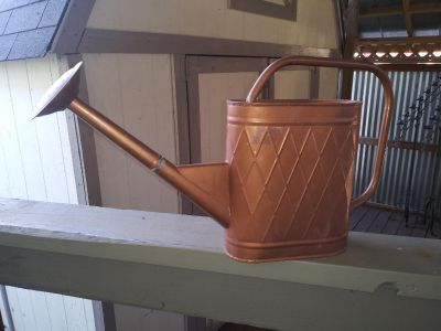 """Watering can 12"""" tall"""
