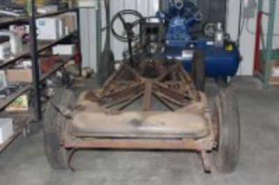 1937 Ford Rolling Chassis