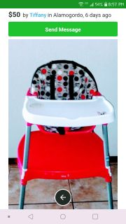 Retachable highchair converted into chair and table