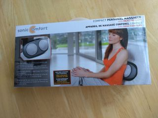 New Sonic comfort compact personal massager