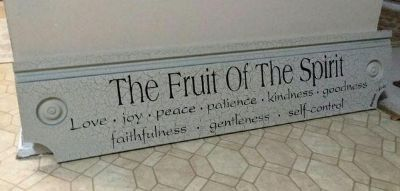 """""""FRUIT OF THE SPIRIT"""".......EXCELLENT CONDITION"""