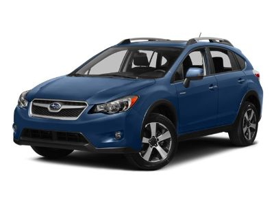 2014 Subaru XV Crosstrek Hybrid Touring (Quartz Blue Pearl)