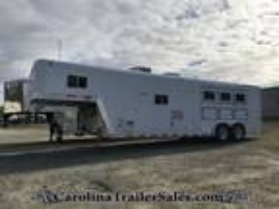 1995 Featherlite 3H 12ft LQ, Generator, Dinette, Super Clean! 3 horses