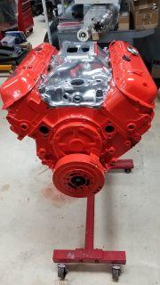 454 BBC LS6 crate motor