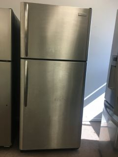 Frigidaire Top and Bottom Refrigerator Stainless Steel