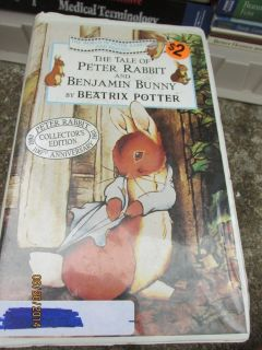 the tale of peter rabbit vhs