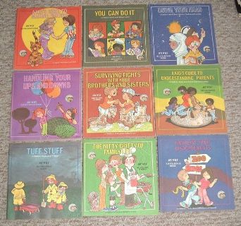 Vintage 1978 Lot of 9 Weekly Reader The Ready Set Grow Series Educational Books