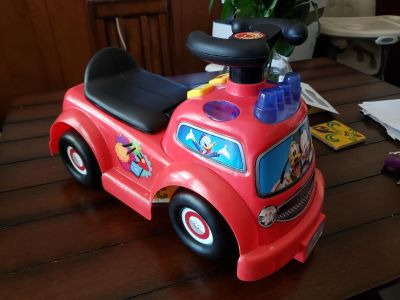 Toddler Mikey Mouse ride on toy