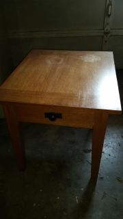 small table with drawer