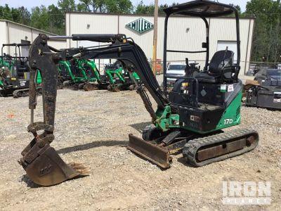 2013 John Deere 17D Mini Excavator