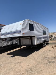 Reduced 5th wheel travel trailer