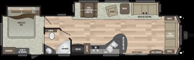 2020 Keystone Residence 40FDEN