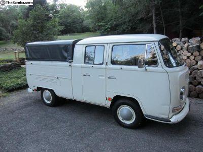 1968 Double Crew Cab w/ Brazilian Canopy OG Paint