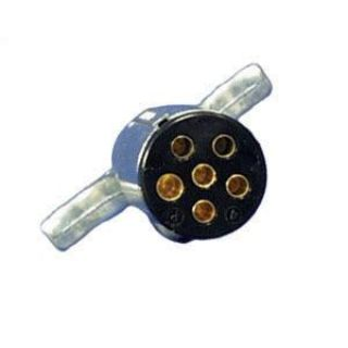 Purchase Draw-Tite Trailer Connector, 6-Way Connector Plug 118037 motorcycle in Chattanooga, Tennessee, US, for US $9.99