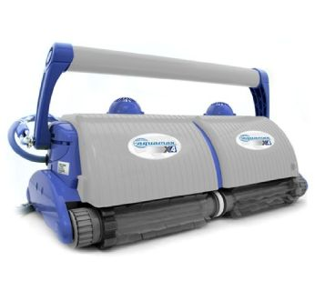 AquaMAX X4 Commercial Robotic Pool Cleaner with Ultra Kart