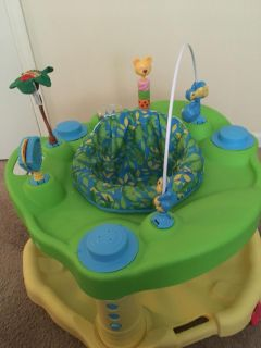 Jungle themed Exersaucer (like new)