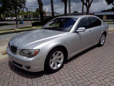 2007 BMW 7-Series 750i (Titanium Silver Metallic)