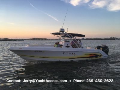 2005 DONZI 29 ZFC For Sale with Twin Four Stroke 205HP Verados