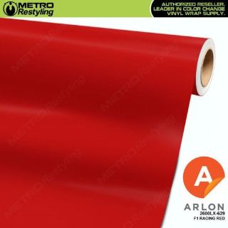 Buy ARLON 2600LX-629 MATTE F1 RACING RED Vinyl Vehicle Car Wrap Decal Film Roll motorcycle in Sterling Heights, Michigan, United States, for US $2.95