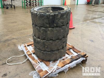 Lot of (2) ITL Tires, (4) Solideal Tires w/Wheels & Natural Gas Hoses