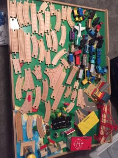 Thomas the train set with table