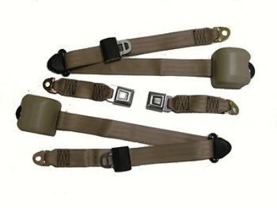 Purchase 1979-1993 MUSTANG CHARCOAL FRONT SEAT BELT ASSEMBLY SET motorcycle in Locust, NC USA, US, for US $194.99