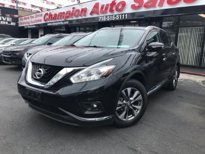 2015 Nissan Murano AWD 4dr Platinum (Magnetic Black Metallic)