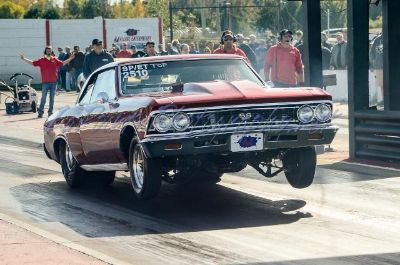 66 Chevelle SS drag car with title