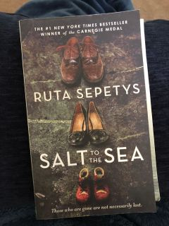 Salt to the Sea, #1 NYTimes Best Seller, Like New Condition/Read once, $5. Porch pick up only.