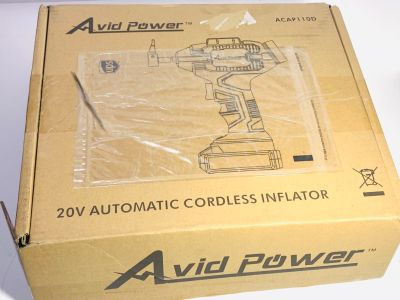 Avid Power Automatic Cordless Tire Inflator $50