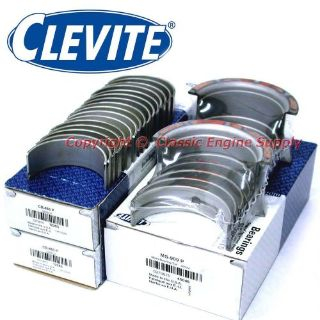 Buy New Clevite Standard Rod & Main Bearing Set Chevy 350 327 307 305 302 267 265 motorcycle in Indianola, Iowa, United States, for US $60.59