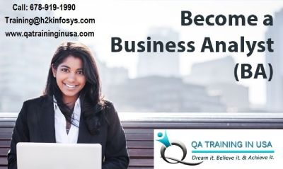 Become a Business Analyst with training provided by QA Training in USA