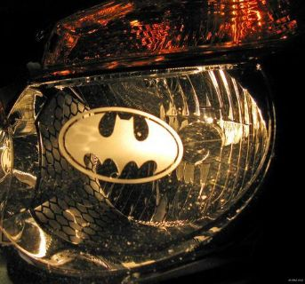 Find BATMAN Head or Tail LIGHT decal etched sticker graphic vinyl Bat Man brake car motorcycle in Chicago, Illinois, US, for US $7.99