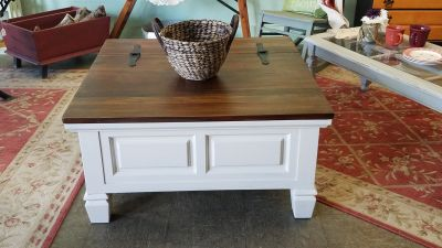 Beautiful refinished coffee table