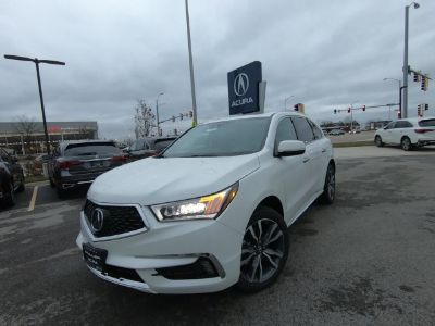 2019 Acura MDX (White Diamond Pearl)