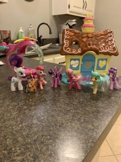 My little pony lot $12. Cross posted