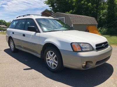 2001 Subaru Outback Base (White Birch)