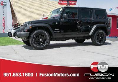 2012 Jeep Wrangler Unlimited Sport (Black)
