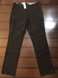 Never worn Banana Republic black indochino pants 30x30