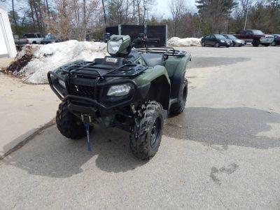 2015 Honda TRX500FM5 Utility ATVs Concord, NH