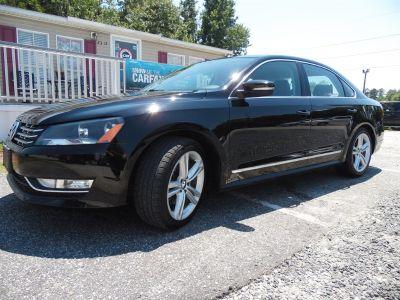 2014 Volkswagen Passat SEL Premium PZEV (Black)